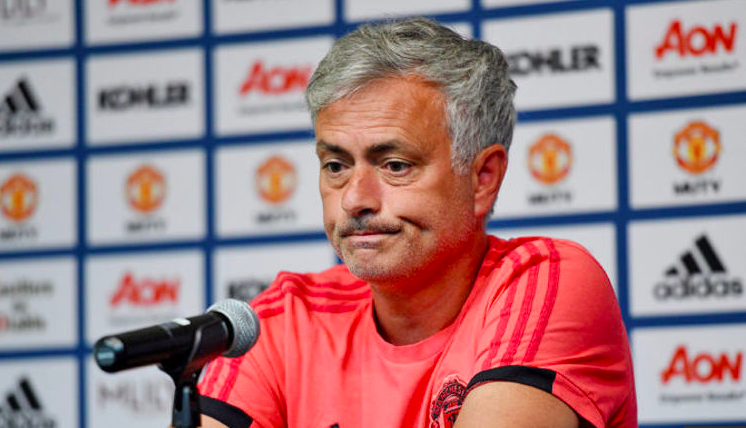 unhappy mourinho