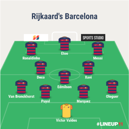 rijkaard formation attack