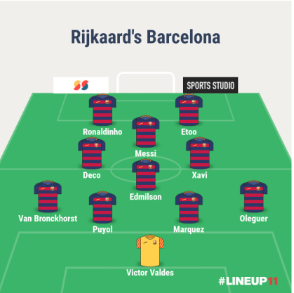 rijkaard formation defence