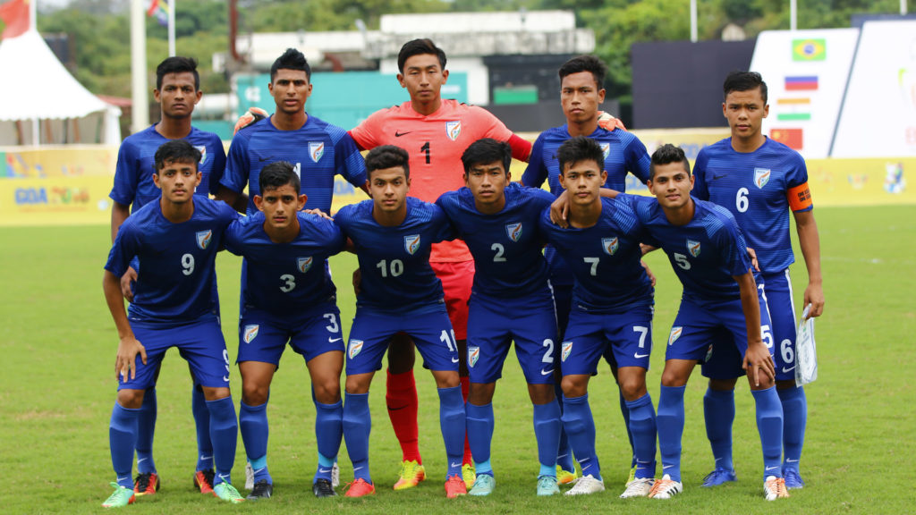 India takes on the World : U-17 Fifa World Cup