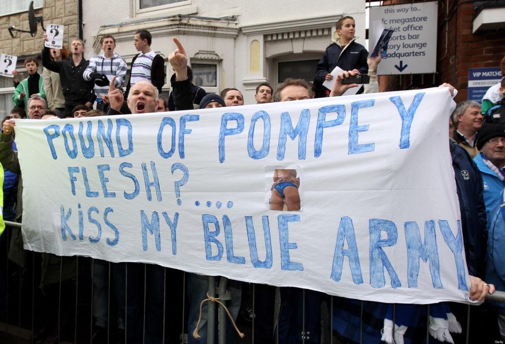 Portsmouth FC – Euphoria to Despair.