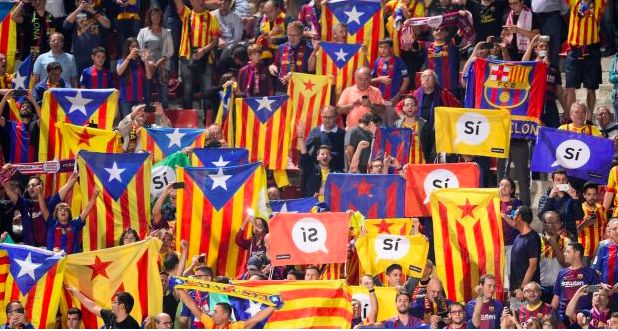 The Road Forks here~ Barcelona's Catalan Conundrum