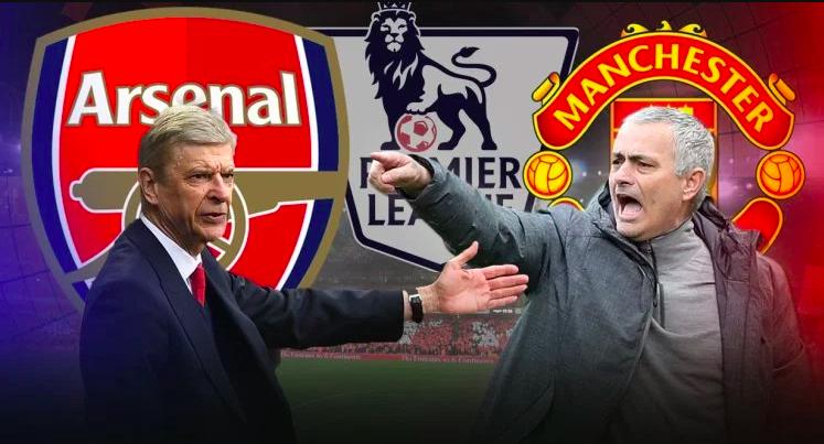 Arsenal vs United:Wenger and Mourinho go again.