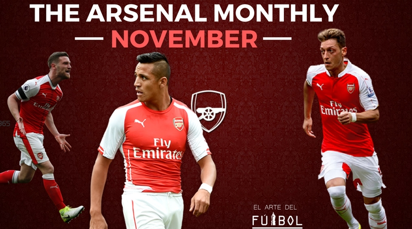 The Arsenal Monthly: November