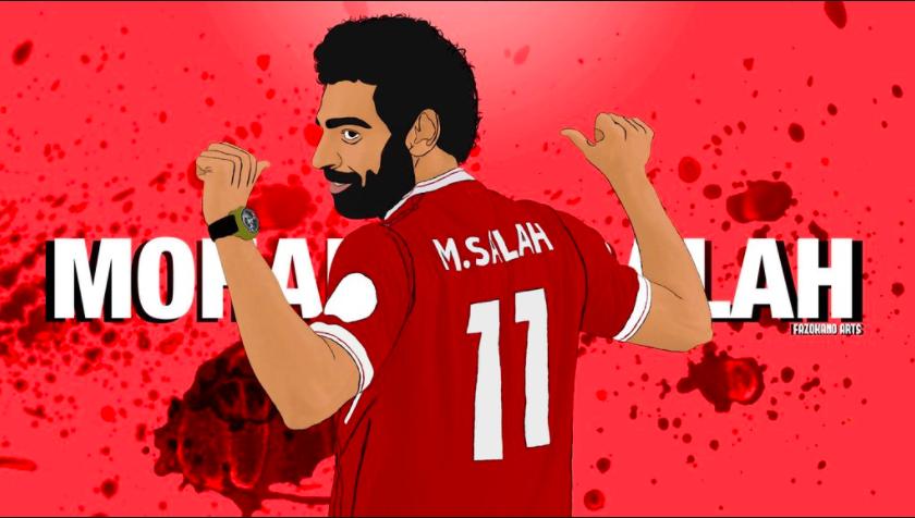 Mo Salah:The King of Egypt.