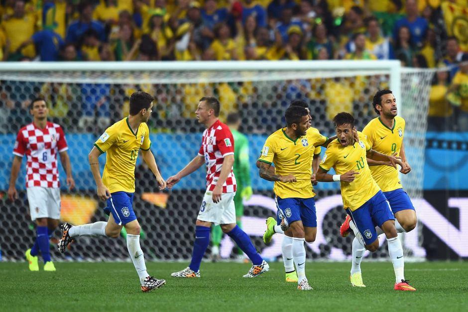 Brazil take on Croatia in World Cup Warm Up