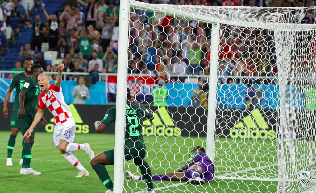 Second Half Modrić Penalty Helps Croatia overcome Nigeria