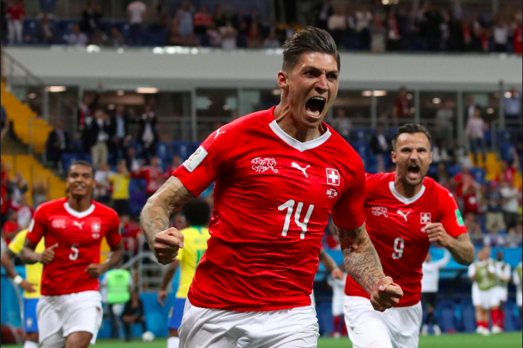 Solid Switzerland Hold Favourites Brazil to a Draw