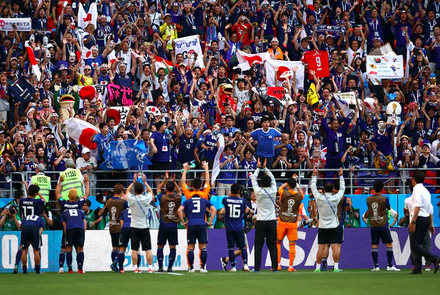 Japan Seal Sweet Revenge As Colombia Falter