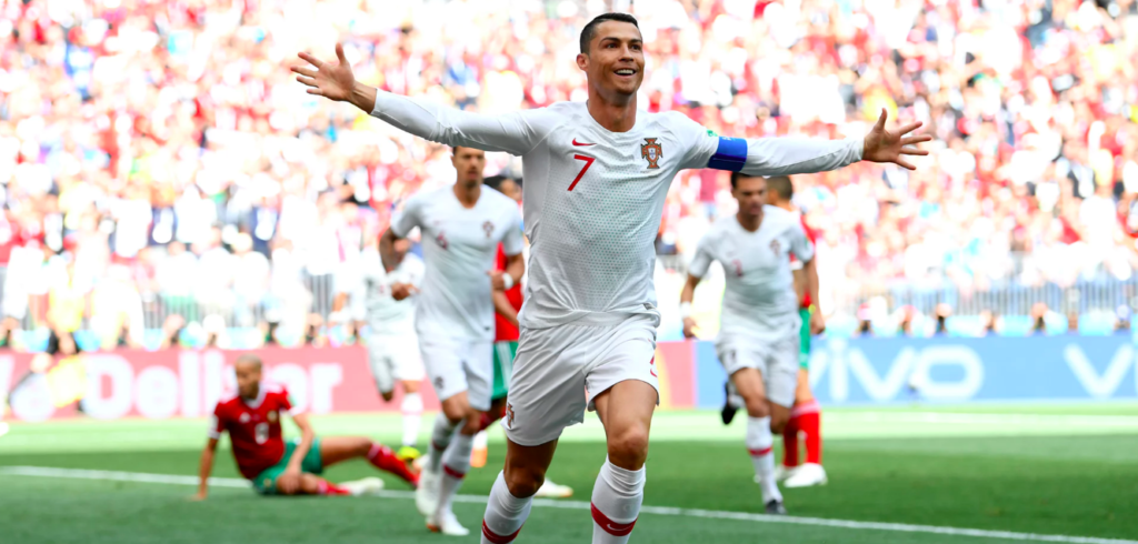 Ronaldo strikes again to send Morocco out of the World Cup