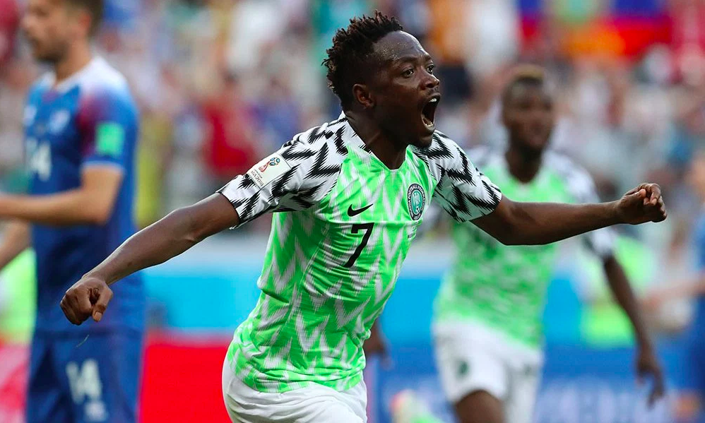 Musa Scores Brace as Nigeria beat Iceland To Give Argentina hope