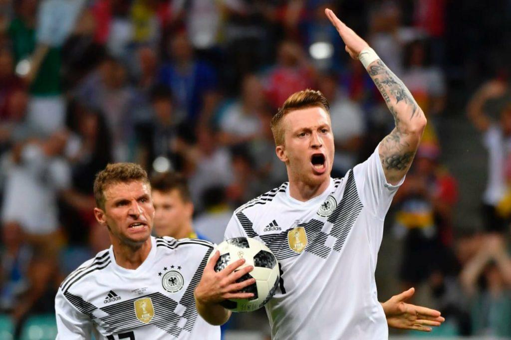 Kroos Scores Sensational Strike to Give Germany Last Minute Win