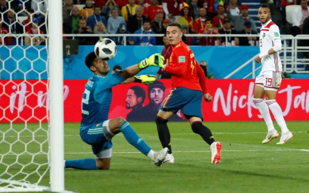 Spain Snatch Late Draw Against Morocco, Top Group and Avoid Uruguay
