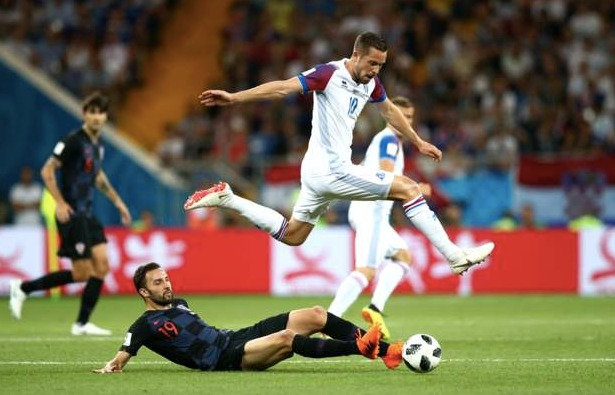 Iceland lose to Croatia and Bow Out of The World Cup