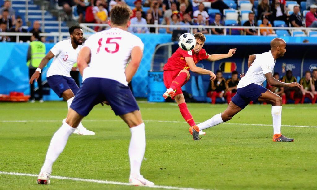 Belgium a Bit Spicy for Mild-Mannered England
