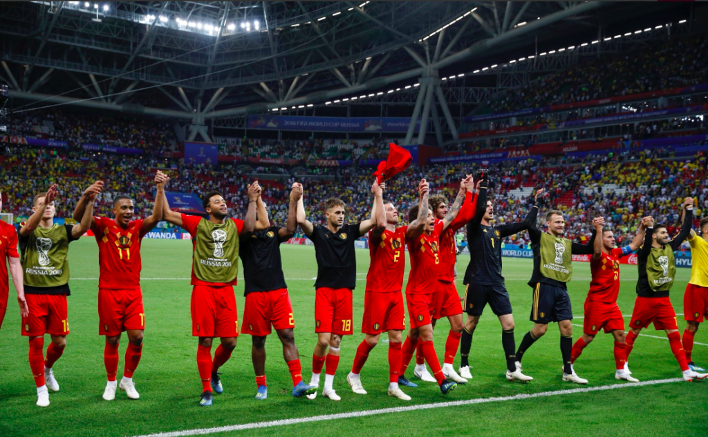 Belgium Upstage Brazil to Set Up Mouth-Watering Semi Against France