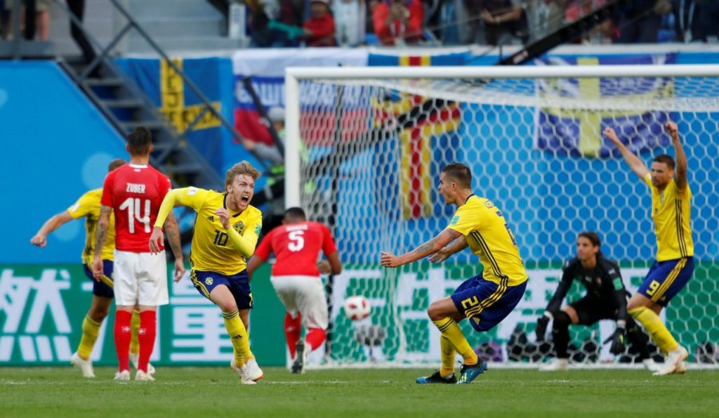 Sweden Make World Cup Quarterfinals For First Time in 24 Years