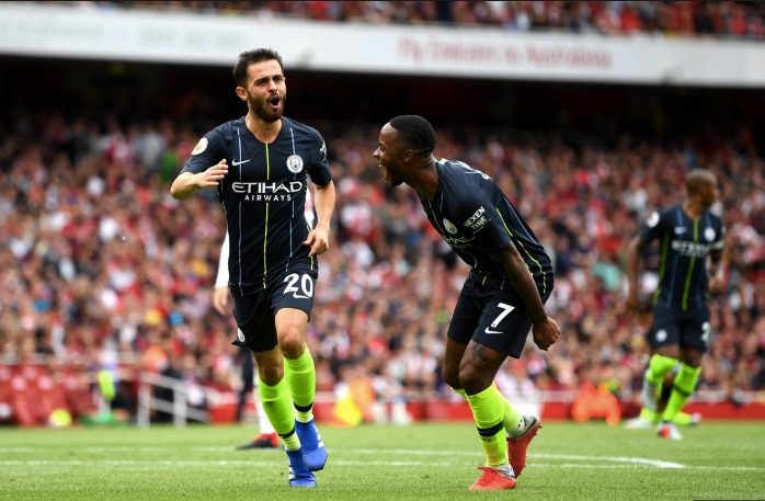 Manchester City Fire Early Title Warning Shots After Resounding Win Over Arsenal
