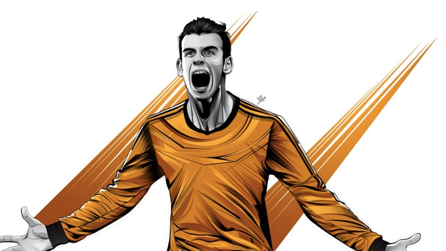 On Gareth Bale and His Love Story With Finals