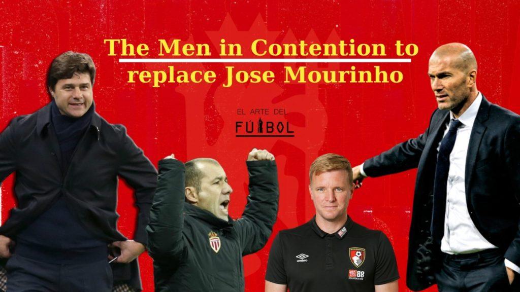The men in contention to replace Mourinho – Howe, Zidane, Jardim & Pochettino