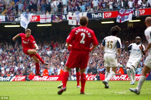 FA Cup Gerrard