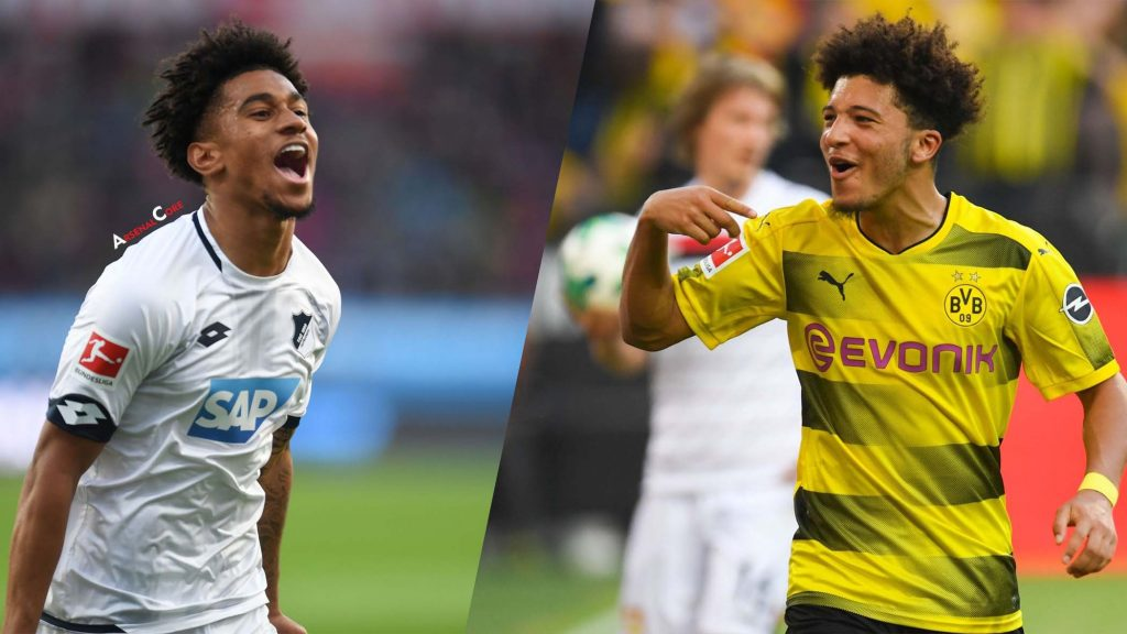 premier league bundesliga sancho nelson