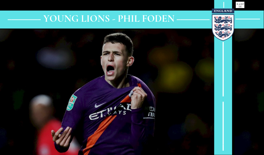 Young Lions – Phil Foden