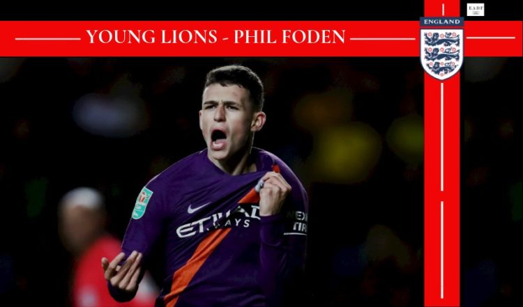 Phil Foden Young Lions