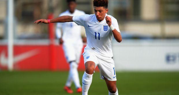 Jadon Sancho U-17 European Championship