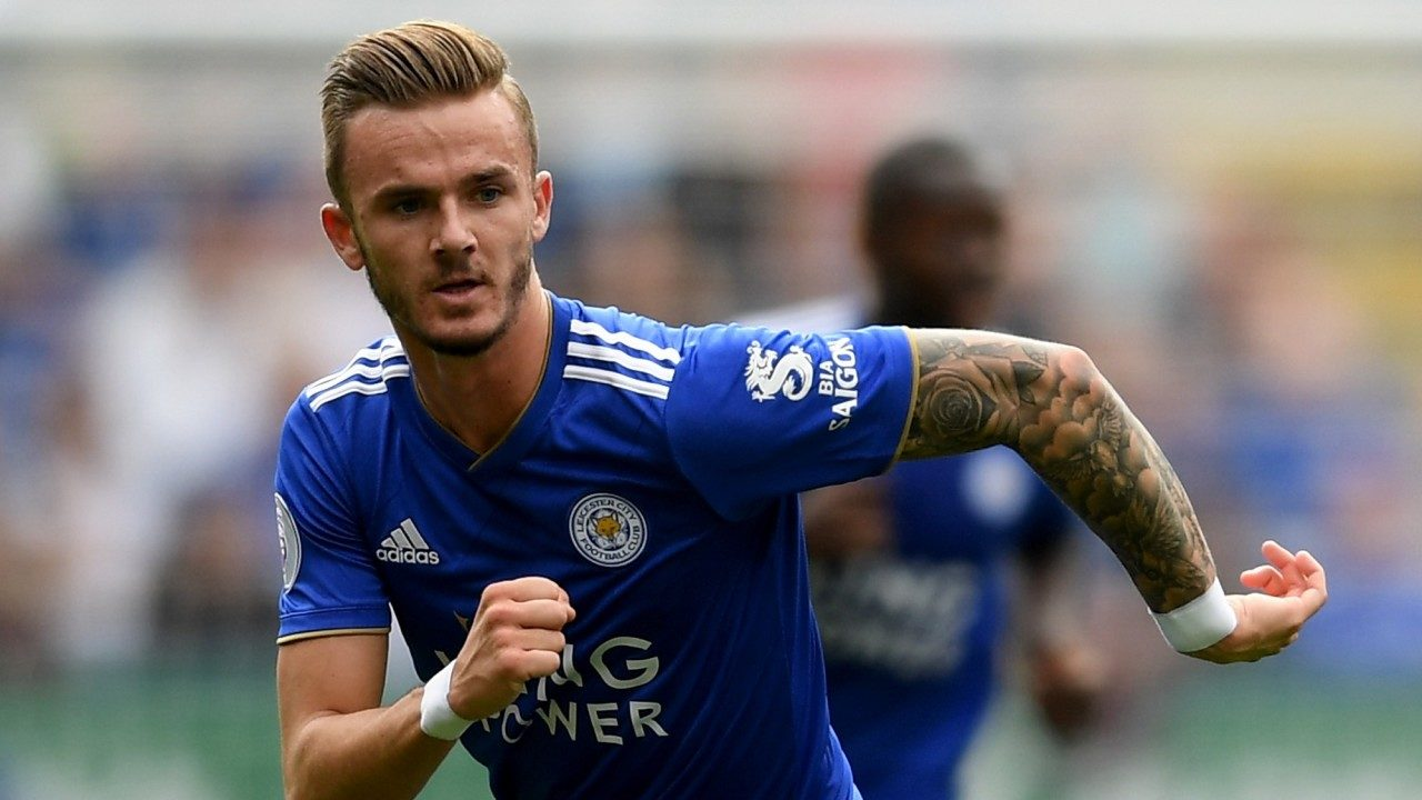 James Maddison, a combination of exuberance and elegance