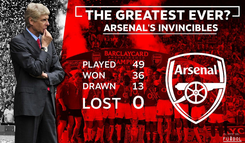 Arsène Wenger's Invincibles – One of the greatest stories in the Premier League era
