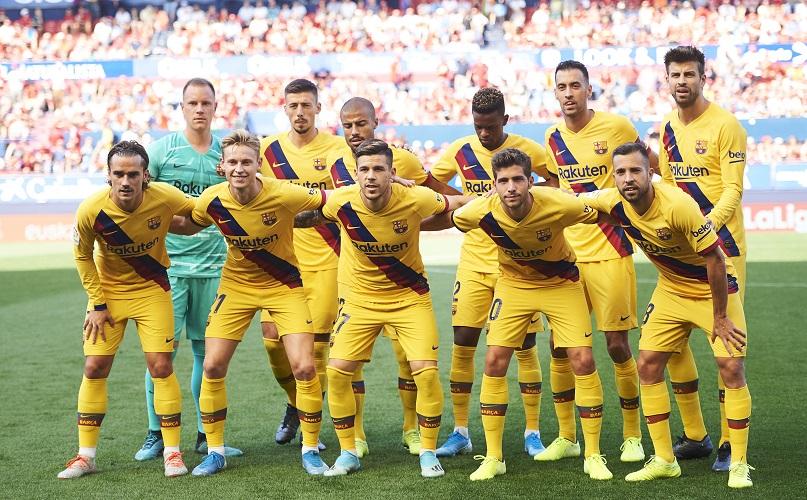 Analysing Barcelona's tactical set up this season
