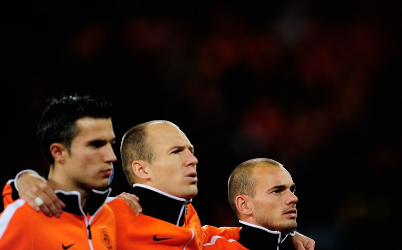 Robben, Sneijder and van Persie - Netherlands' iconic modern trio and their larger influence