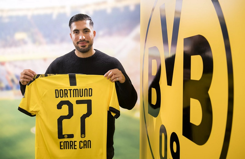 Emre Can – Turning his blues to Black and Yellow