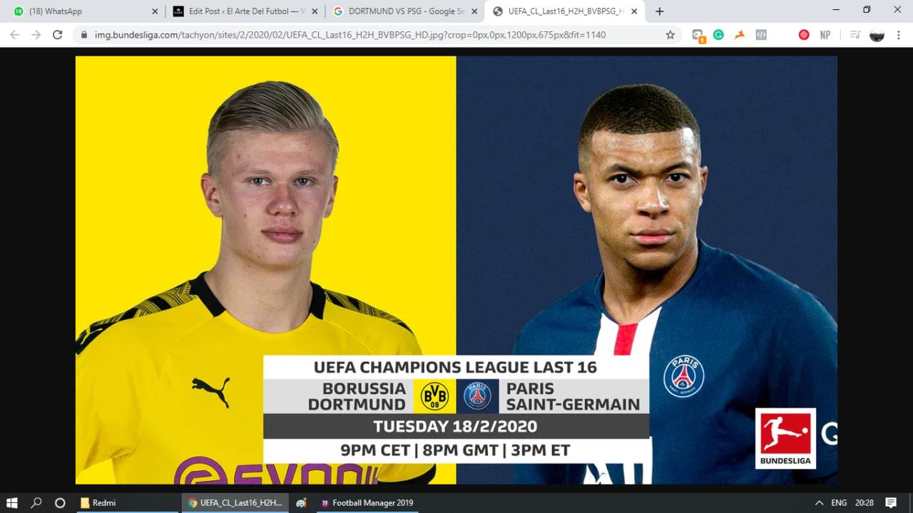 Borussia Dortmund vs Paris Saint-Germain – Tactical preview and key battles