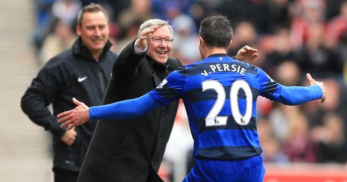 van Persie Sir Alex Ferguson
