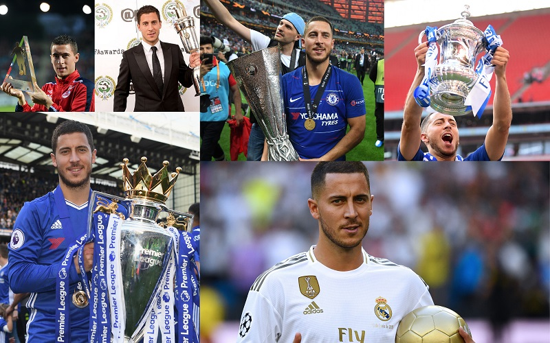 Eden Hazard – The journey so far