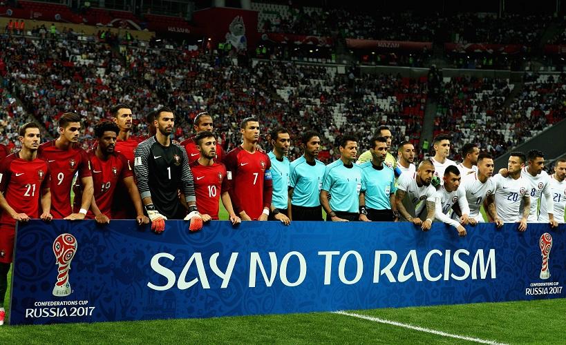 Posição da FIFA sobre racismo e política 2